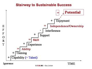 Stairway to Sustainable Success
