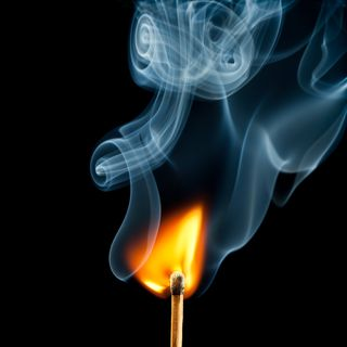 Burning Match 000017482380Small