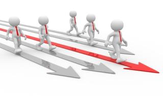 Striding towards success 14815469_s